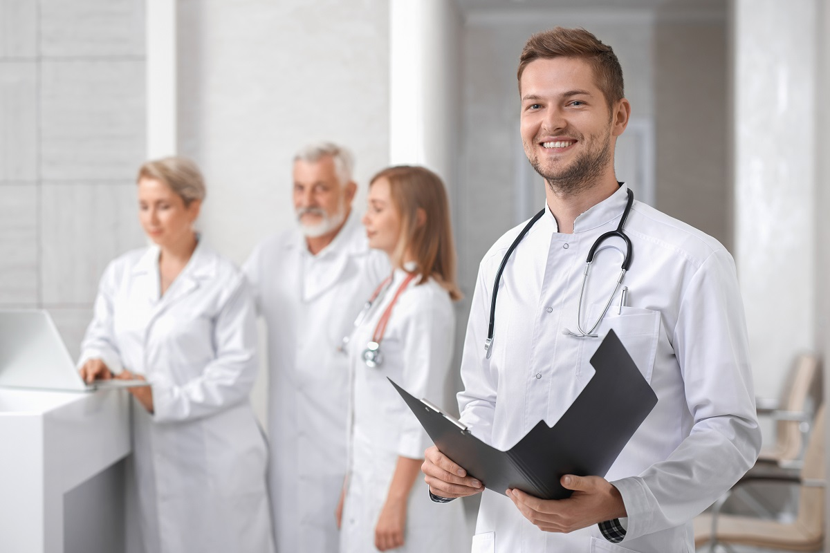 Doctors at the hospital